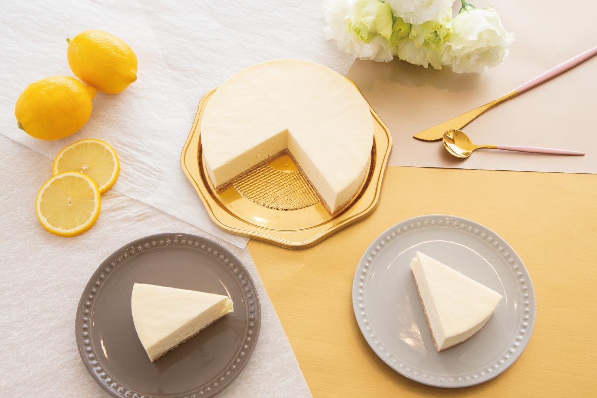 ヨーロッパのティータイムをイメージした「エレガントなレアチーズケーキ」