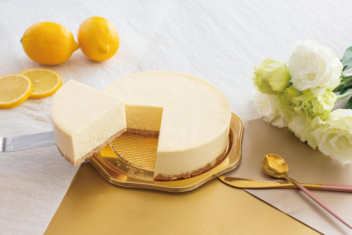 Unbaked cheesecake